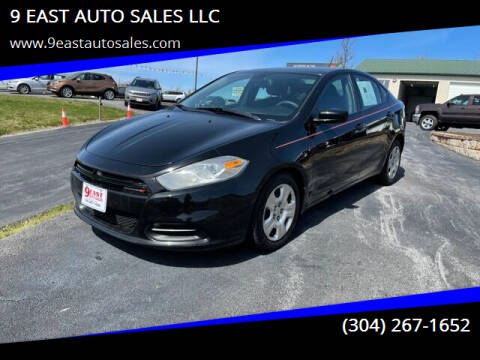 2015 Dodge Dart for sale at 9 EAST AUTO SALES LLC in Martinsburg WV