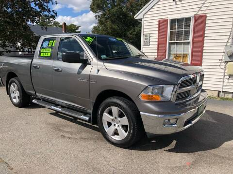 2009 Dodge Ram Pickup 1500 for sale at Crown Auto Sales in Abington MA