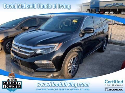 2018 Honda Pilot for sale at DAVID McDAVID HONDA OF IRVING in Irving TX