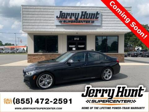 2016 BMW 3 Series for sale at Jerry Hunt Supercenter in Lexington NC