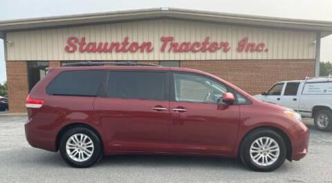 2012 Toyota Sienna for sale at STAUNTON TRACTOR INC in Staunton VA