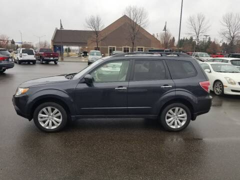 2013 Subaru Forester for sale at ROSSTEN AUTO SALES in Grand Forks ND
