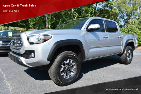 2018 Toyota Tacoma for sale at Apex Car & Truck Sales in Apex NC