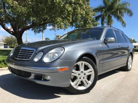2005 Mercedes-Benz E-Class for sale at DS Motors in Boca Raton FL