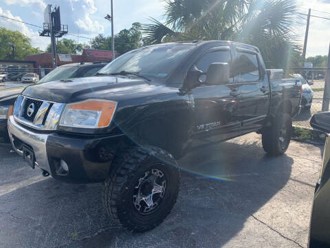2010 Nissan Titan for sale at Castle Used Cars in Jacksonville FL