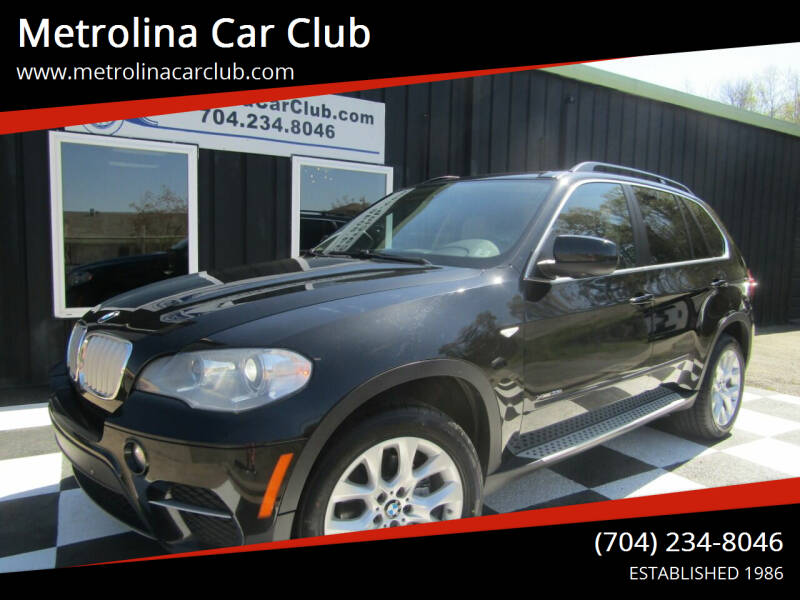 2013 BMW X5 for sale at Metrolina Car Club in Matthews NC
