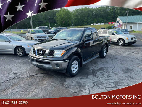 2005 Nissan Frontier for sale at BOLTON MOTORS INC in Bolton CT