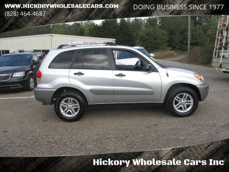 2002 Toyota RAV4 for sale at Hickory Wholesale Cars Inc in Newton NC