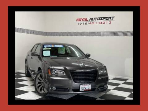 2014 Chrysler 300 for sale at Royal AutoSport in Sacramento CA