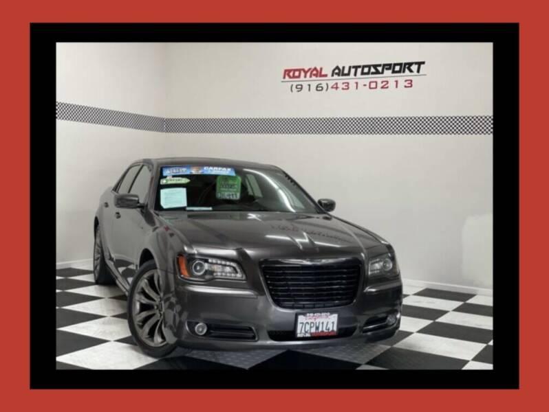 2014 Chrysler 300 for sale at Royal AutoSport in Sacramento CA