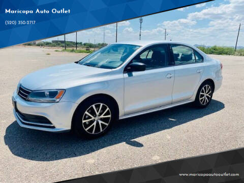 2016 Volkswagen Jetta for sale at Maricopa Auto Outlet in Maricopa AZ