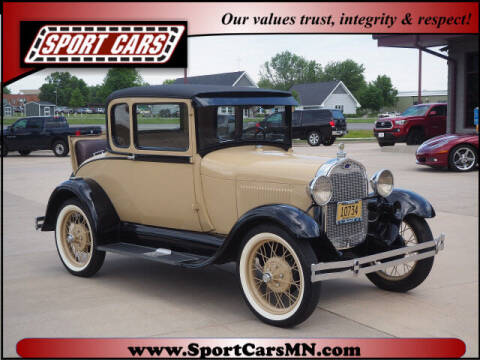 1929 Ford Model A for sale at SPORT CARS in Norwood MN