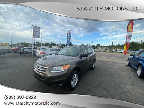 2012 Hyundai Santa Fe for sale at StarCity Motors LLC in Garden City ID