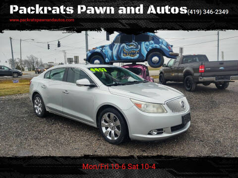 2011 Buick LaCrosse for sale at Packrats Pawn and Autos in Defiance OH