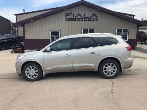 2014 Buick Enclave for sale at Fiala Automotive in Howells NE