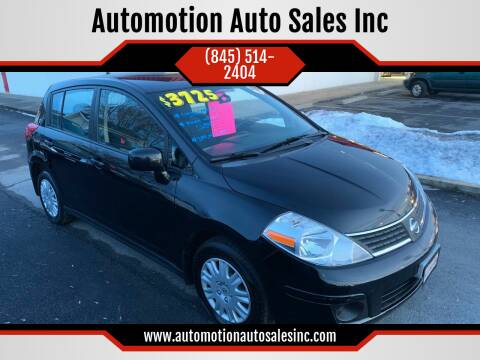 2007 Nissan Versa for sale at Automotion Auto Sales Inc in Kingston NY
