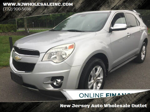 2011 Chevrolet Equinox for sale at New Jersey Auto Wholesale Outlet in Union Beach NJ