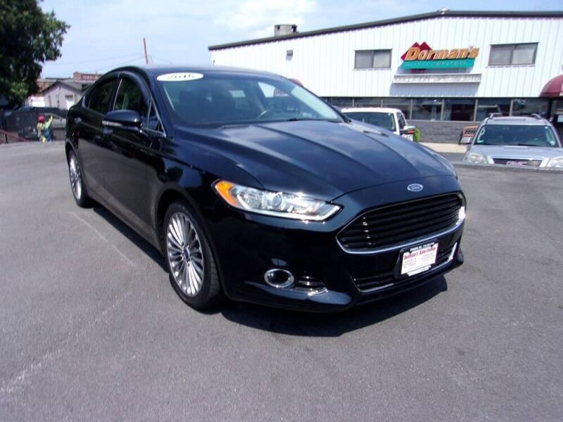 2016 Ford Fusion for sale at Dorman's Auto Center inc. in Pawtucket RI