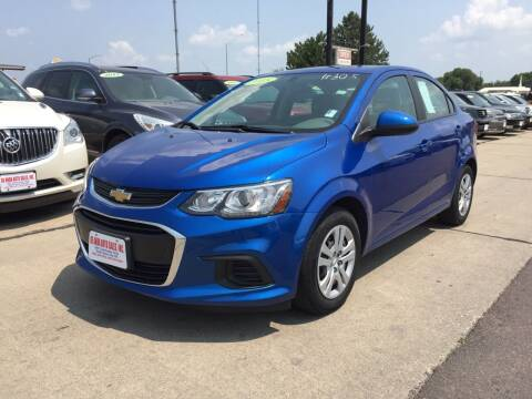 2018 Chevrolet Sonic for sale at De Anda Auto Sales in South Sioux City NE