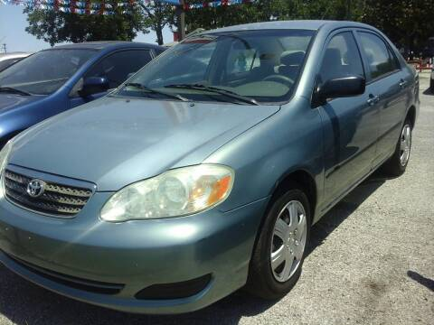 2007 Toyota Corolla for sale at John 3:16 Motors in San Antonio TX