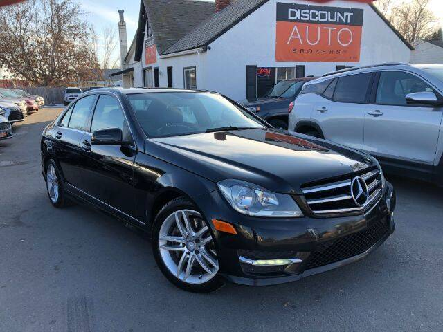 2014 Mercedes-Benz C-Class for sale at Discount Auto Brokers Inc. in Lehi UT