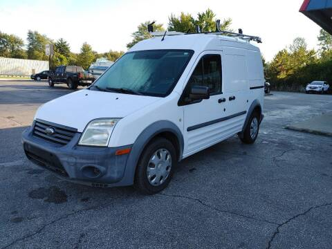 2012 Ford Transit Connect for sale at Cruisin' Auto Sales in Madison IN