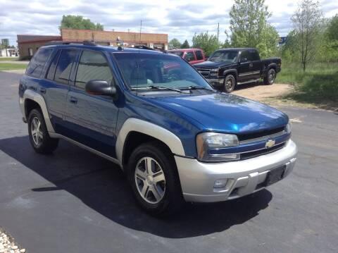 2005 Chevrolet TrailBlazer for sale at Bruns & Sons Auto in Plover WI