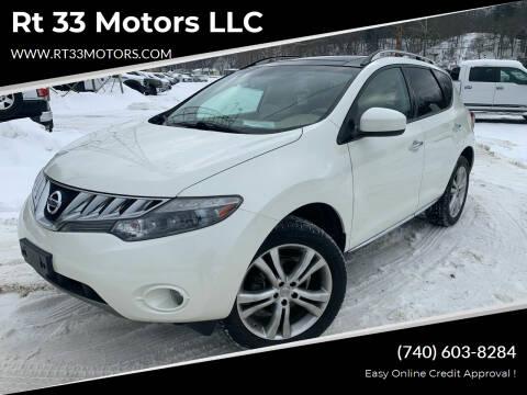 2010 Nissan Murano for sale at Rt 33 Motors LLC in Rockbridge OH