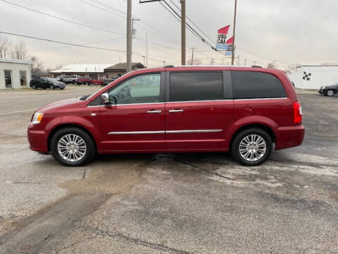 2014 Chrysler Town and Country for sale at Bruce Kunesh Auto Sales Inc in Defiance OH
