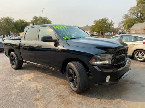 2015 RAM Ram Pickup 1500 for sale at Unique Motors in Wichita KS