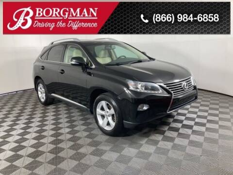 2015 Lexus RX 350 for sale at BORGMAN OF HOLLAND LLC in Holland MI
