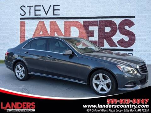 2016 Mercedes-Benz E-Class for sale at The Car Guy powered by Landers CDJR in Little Rock AR