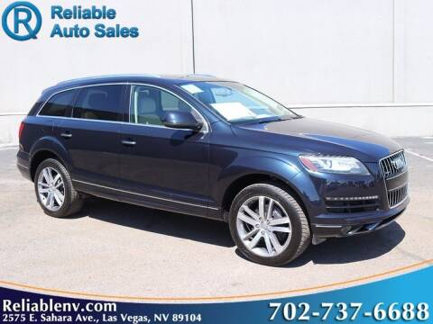2010 Audi Q7 for sale at Reliable Auto Sales in Las Vegas NV