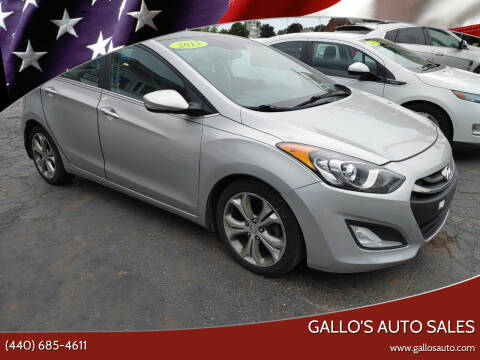 2013 Hyundai Elantra GT for sale at Gallo's Auto Sales in North Bloomfield OH