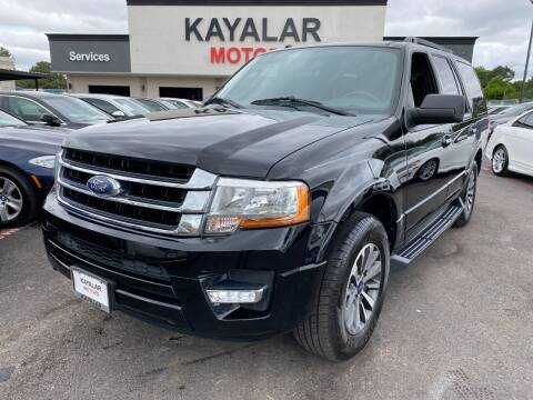 2016 Ford Expedition for sale at KAYALAR MOTORS in Houston TX