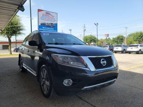 2014 Nissan Pathfinder for sale at Magic Auto Sales in Dallas TX