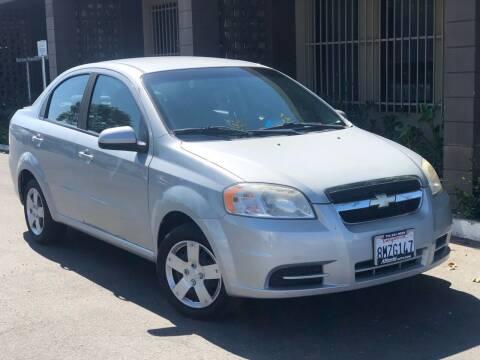 2010 Chevrolet Aveo for sale at AllanteAuto.com in Santa Ana CA