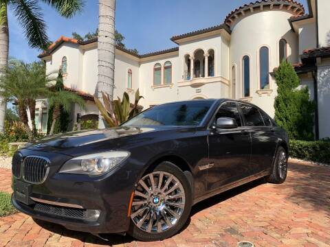 2009 BMW 7 Series for sale at Mirabella Motors in Tampa FL