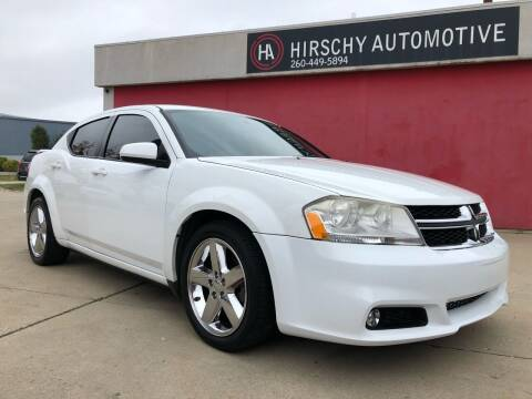 2014 Dodge Avenger for sale at Hirschy Automotive in Fort Wayne IN