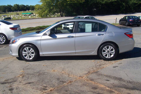2013 Honda Accord for sale at Blackwood's Auto Sales in Union SC