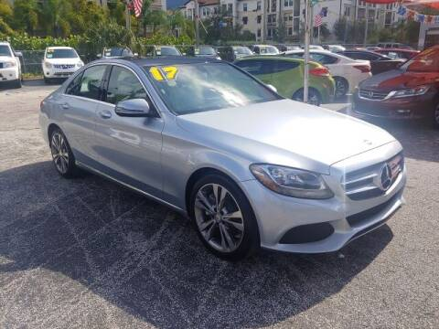2017 Mercedes-Benz C-Class for sale at Brascar Auto Sales in Pompano Beach FL