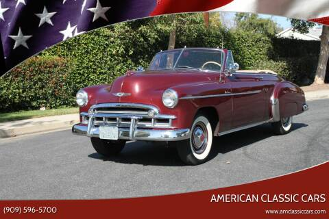 1949 Chevrolet Styleline for sale at American Classic Cars in La Verne CA