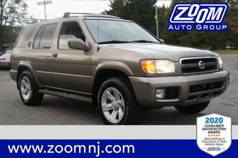 2003 Nissan Pathfinder for sale at Zoom Auto Group in Parsippany NJ