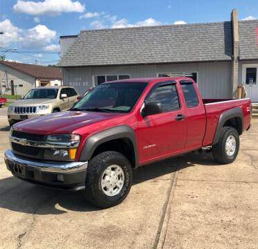 2005 Chevrolet Colorado for sale at Stephen Motor Sales LLC in Caldwell OH