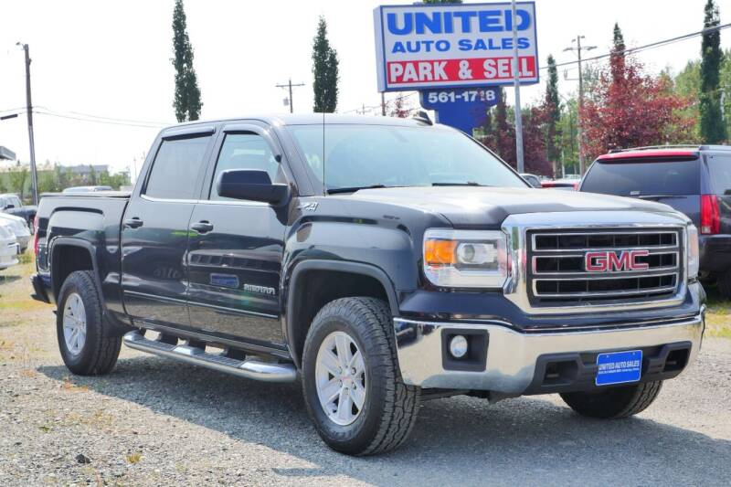 2015 GMC Sierra 1500 for sale at United Auto Sales in Anchorage AK
