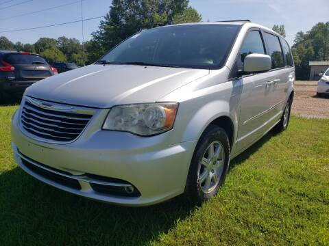 2012 Chrysler Town and Country for sale at Scarletts Cars in Camden TN