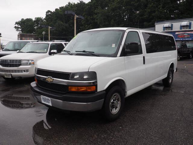 2016 Chevrolet Express Passenger for sale at Scheuer Motor Sales INC in Elmwood Park NJ