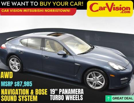 2012 Porsche Panamera for sale at Car Vision Mitsubishi Norristown in Norristown PA