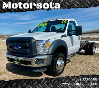 2015 Ford F-450 Super Duty for sale at Motorsota in Becker MN