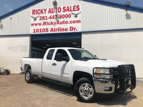 2011 Chevrolet Silverado 2500HD for sale at Ricky Auto Sales in Houston TX